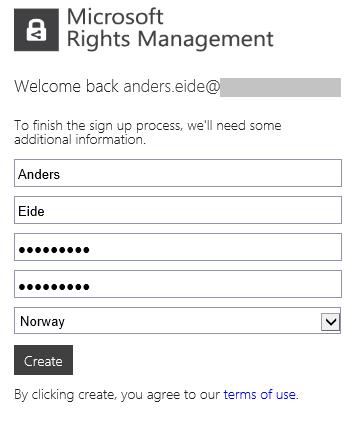 RegisterAccount - Safe