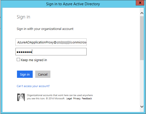 AzureADApplicationProxyConnectorSignIn